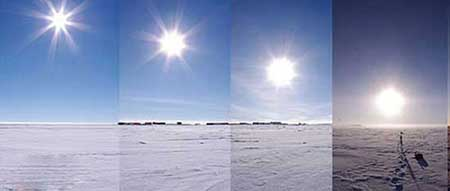 در این مکان مرموز خورشید هیچوقت غروب نمی کند (عکس)