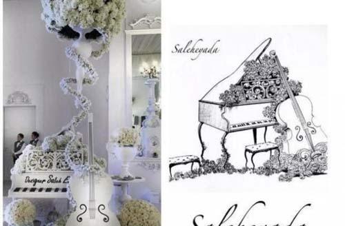 جشن عروسی مجلل شبیه داستان های هزار و یک شب (عکس)
