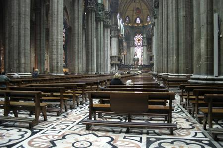 معرفی کلیسای زیبا و دیدنی دوئومو در میلان ایتالیا (+تصاویر)