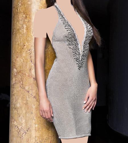 زیباترین مدل های شیک لباس مجلسی کوتاه 2016