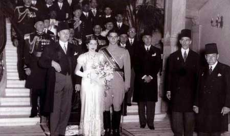 زندگی نامه فوزیه، همسر اول محمدرضاشاه پهلوی (عکس)