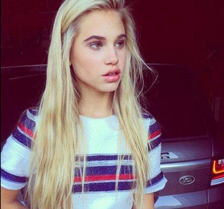 دختر جدیدی که رونالدو شیفته او شده است (عکس)
