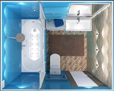 مدل دکوراسیون مدرن سرویس بهداشتی های نقلی