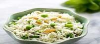 آموزش رست کردن سالاد برنج و نخود فرنگی