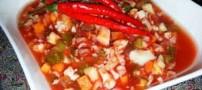 انواع ترشی خوشمزه با گوجه و طرز تهیه آن