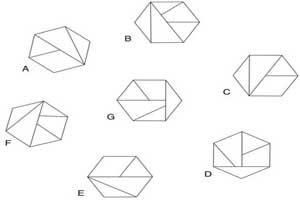 تست هوش جالب حذف یک شش ضلعی