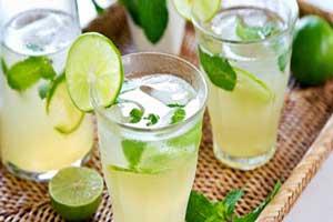 نوشیدنی لیموناد مناسب برای چربی سوزی