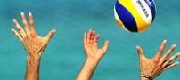 دست راست کاپیتان تیم ملی والیبال قطع شد (عکس)