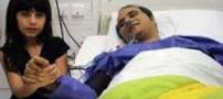 عکس شهرام شکوهی و دخترش در بیمارستان بعد از جراحی قلب