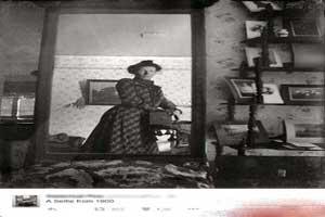 عکس دیدنی و جالب از قدیمی ترین سلفی جهان در آینه