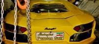 تصاویر ساخت لامبورگینی 150 میلیونی دستساز در ایران
