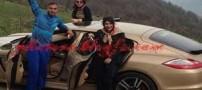 اتومبیل پورشه ای که سوشا مکانی را به زندان انداخت (عکس)