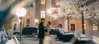 عروسی زوجی رمانتیک در سرمای 40 درجه زیر صفر (عکس)