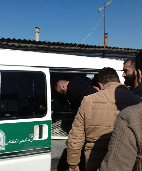 جزئیات و تصاویر دستگیری ضربتی شاه مازندران