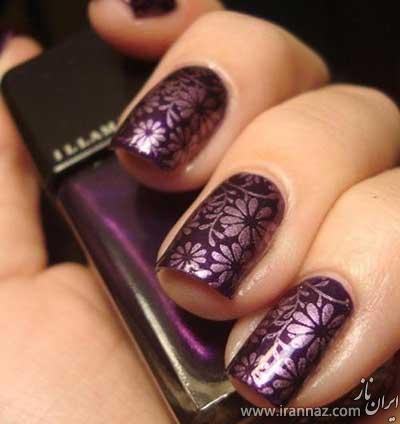 عکس های طراحی و آرایش شیک ناخن برای نوروز 95