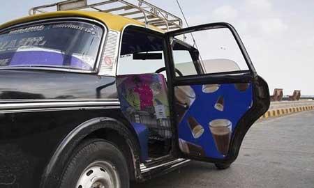 تاکسی های جالبی که شما را شاد می کند (عکس)