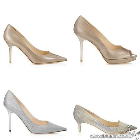 مدلهای جدید و شیک کفش عروس برند «جیمی چو»