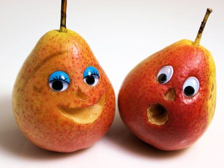 Funny smiley funny and interesting photos on fruits