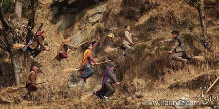 روستایی که در آن کودکان با جارو پرواز می کنند (عکس)