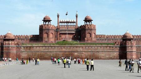 امارت تاریخی لال قلعه در هندوستان (+عکس)