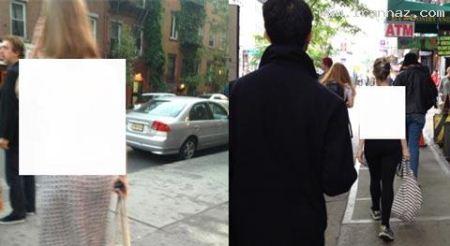جنجال زن بی لباسی که در خیابان های نیویورک قدم می زد (عکس)