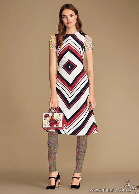 مدلهای شیک لباس بهاری دخترانه برند دی اند جی D&G