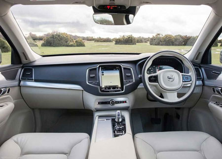 رونمایی از اتومبیل لوکس و شاسیبلند جدید کمپانی ولوو