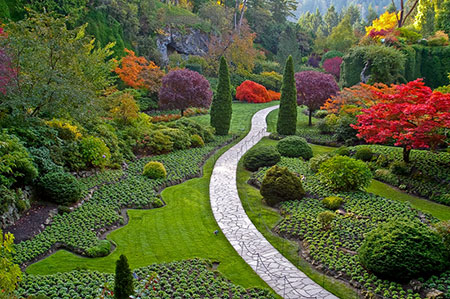 معرفی زیباترین و بزرگترین باغ گل طبیعی جهان (+عکس)