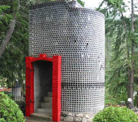 تصاویر جالب خانه ای با دیزاین عجیب در کانادا