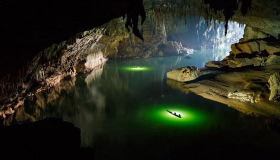 عکسهای دیدنی از بزرگترین غار رودخانه ای جهان