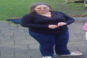 دختر خوش اندام 24 ساله که 80 کیلو وزن کم کرد (عکس)