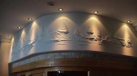نقاشی های بی نظیر و دیدنی سه بعدی بر روی دیوار