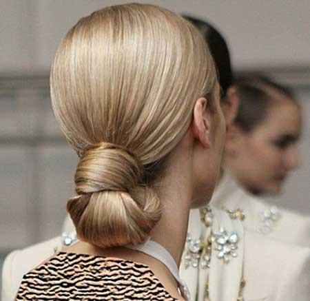 ساده ترین آرایش مو دخترانه برای مهمانی های فامیلی