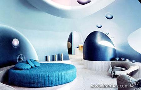 هتلی جالب و دیدنی شبیه به حباب (عکس)