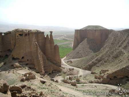 آشنایی با قلعه تاریخی و دیدنی بهستان زنجان (+تصاویر)