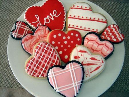 عاشقانه ترین تزیینات کوکی زیبا برای ولنتاین