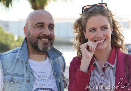 نامزد زیبای برزیلی رضا عطاران در یک فیلم (عکس)