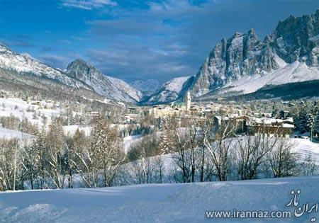 روستاهای توریستی برای تعطیلات زمستانی (+تصاویر)
