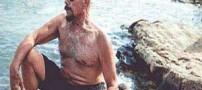 مرد 95 ساله که به طرز عجیبی جوان مانده است (عکس)