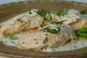 آموزش درست کردن مرغ خامه ای ایتالیایی خوشمزه
