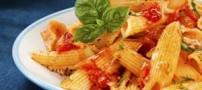 آموزش درست کردن ماکارونی با پنیر و گوجه فرنگی