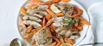 آموزش درست کردن خوراک مرغ رژیمی و سبزیجات