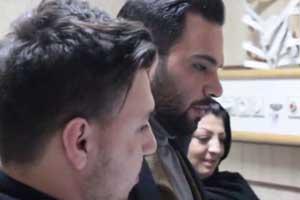 احسان علیخانی به ملاقات سارا عبدالملکی رفت (عکس)