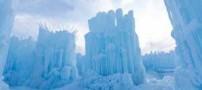 پارک گردشگری یخی یکی از جاذبه های توریستی کانادا (عکس)