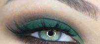 عکسهایی از مدلهای زیبای آرایش چشم رنگ سبز