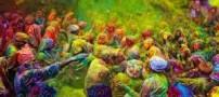 فستیوال رنگ پاشی بسیار جالب به نام هولی در هند (+تصاویر)