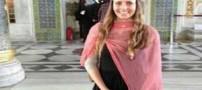 دختر بیحجابی که امام جماعت مسجدی در اروپا است (عکس)