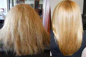 کراتینه کردن مو به روش طبیعی در خانه