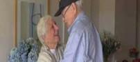 لیلی و مجنون آمریکایی بعد از 70 سال ازدواج کردند (عکس)