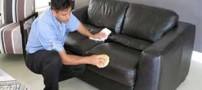آموزش ترفندی برای پاک کردن لکه روی مبلمان